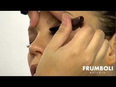 Make up con ojos destacados