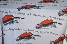 Vintage Kliban Cat Bed Sheet    So cute!!!