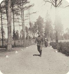 Tsar Nicholas II in 1916. I love this photo.