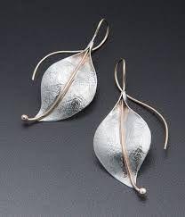Znalezione obrazy dla zapytania Leaf  silver Earrings Leaf Earrings, Armband, Leaf Jewelry, Jewelry Art, Fine Jewelry, Jewelry Design, Gold Jewelry, Jewelry Accessories, Filigraner Ring