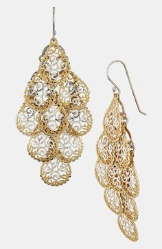 Argento Vivo Chandelier Earrings available at #Nordstrom