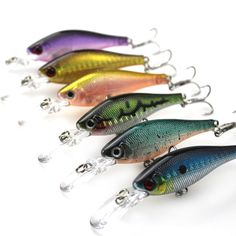 """Hard Plastic Laser Minnow Fishing Lures Kit Isca Artificial Minnow Baits Tackle for Bass Trout Walleye Saltwater 11cm/4.33""""/6.8g"""