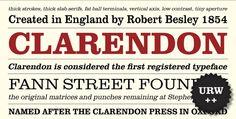 Clarendon by Monotype. http://sincetheblog.com/2014/10/21/monotype/