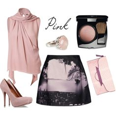 """lpink"" by tiziana-arosio on Polyvore"
