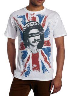【Sex Pistols】セックス・ピストルズ ロッテン ゴッド・セーブ・ザ・クイーンTシャツ - *Union Jack mania*ユニオンジャックマニア*