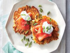 Frozen shredded potatoes are a fast cook's friend: They need no draining or thawing. Serve for brunch with a side of fruit.View Recipe: Crispy Potato Cakes with Smoked Salmon