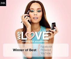 """""""Last night #MaryKay won all 3 #Beauty20 Awards we were nominated for! Thanks for your votes & support, beauties! """""""