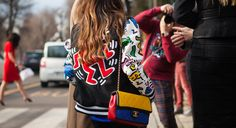 Milan Fall 2014 RTW Street Style captured for Four Pins