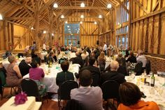 Photograph of the barn wedding venue at The Friars, Aylesford