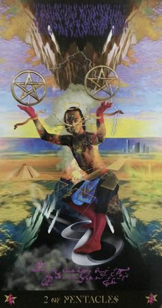 Card of the Day – 2 of Pentacles – Sunday, August 2, 2020 – Tarot by Cecelia
