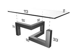 Welded Furniture, Industrial Design Furniture, Iron Furniture, Steel Furniture, Funky Furniture, Home Decor Furniture, Diy Home Decor, Furniture Design, Tea Table Design