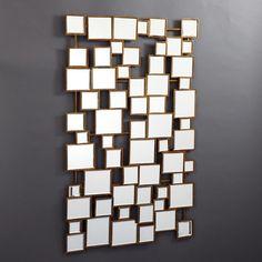 Facets Multi Square Wall Mirror