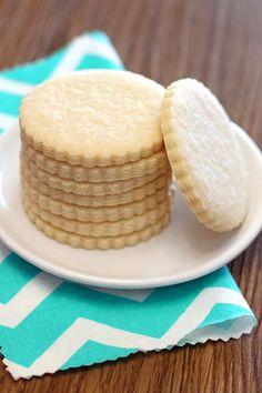 gluten free vegan sugar cookies   makes 28-30 cookies       •2 1/2 cups Sarah's gluten free flour blend  •1 teaspoon baking powder  •1/2 teaspoon salt  •1 1/2 cups organic powdered sugar  •1/3 cup coconut oil, soft  •1/4 cup So Delicious unsweetened coconut milk, room temperature  •2 teaspoons vanilla extract