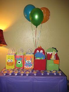 Makin' Mud Pies: Little Monster Birthday Party