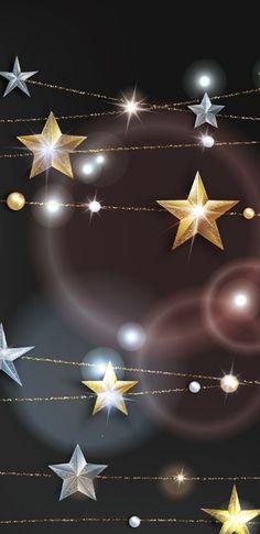 Black and gold stars Schwarz und Goldsterne Flowery Wallpaper, Flower Phone Wallpaper, Star Wallpaper, Cellphone Wallpaper, Pattern Wallpaper, Kawaii Background, Best Photo Background, Wallpaper Design For Phone, Photo Backgrounds