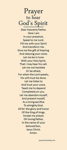 Hear God's Spirit (prayersforanxiety.com)