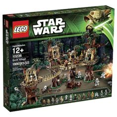 Travel to Endor and visit the treetop home of the Ewoks. Just like in Star Wars: Episode VI Return of the Jedi this recreation of the Ewoks' forest dwelling is packed with cool functions including t...