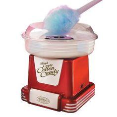 Retro Series Hard & Sugar-Free Candy Cotton Candy Maker