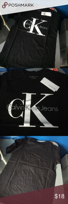 🎉Christmas🎄sale 🎉New boys Calvin Klein shirt Nwt Calvin Klein boys short sleeve shirt FIRM price Calvin Klein Shirts & Tops Tees - Short Sleeve