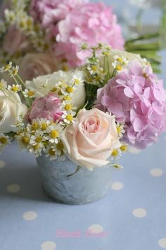 Roses & hydrangeas