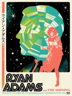 GigPosters.com - Ryan Adams & The Shining