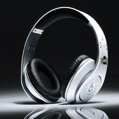monster beats NAB cavaliers diamond headphones white