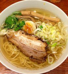 Yuzu Shio Ramen ゆずが香る塩ラーメン