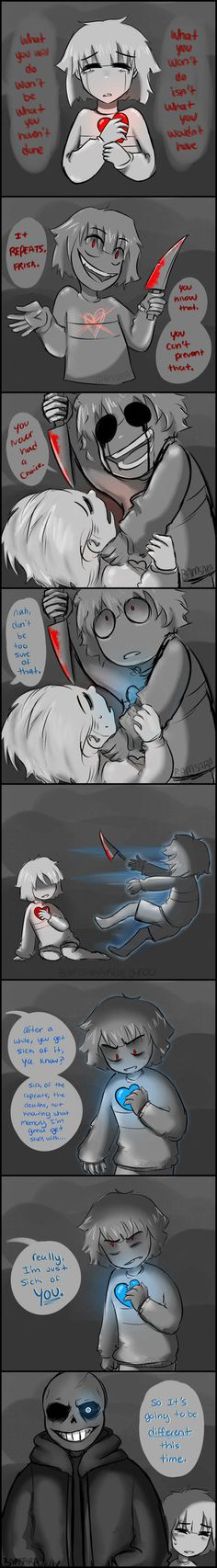 Destroy The Source by BamSaraKilledYou on DeviantArt <<< I'm trying not to pin Undertale stuff until I've actually watched a playthrough but this was too freaking good