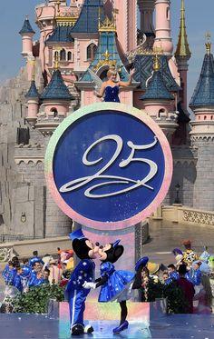 Walt Disney Parks and Resorts Chairman Bob Chapek Helps Launch Disneyland Paris 25th Anniversary