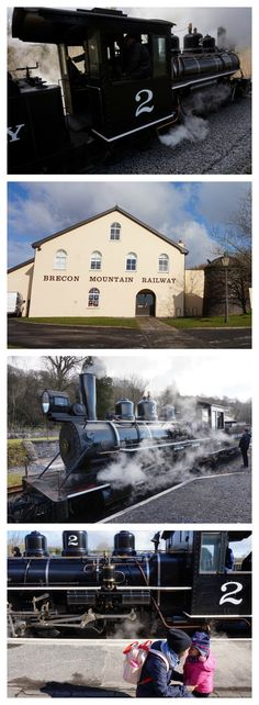 Brecon Mountain Railway, Brecon Beacons, Wales