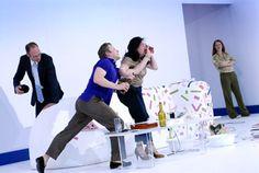 Burgtheater - Der Gott des Gemetzels - 24. März 2010