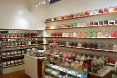 Apocathery jars with candy