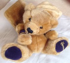 A personal favourite from my Etsy shop https://www.etsy.com/uk/listing/269387213/harrods-vintage-teddy-bear-scarf