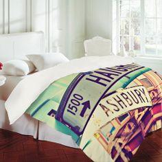 DENY Designs Home Accessories   Shannon Clark Haight Ashbury Duvet Cover