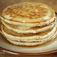 Whole Wheat Pancakes — Recipe from Skinny Taste