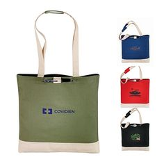 Cool Only $2.40//each Promotional Classic Cotton 6 oz. Convention Tote | Customized Cotton Totes | Promotional Cotton Totes