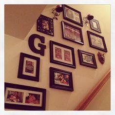 Easy Dyi Family wall. ;,))