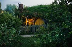 """kingaragornofgondor:  """"1 Bagshot Row The fire roaring in the home of Samwise Gamgee & Rosie Cotton.""""  At the Hobbiton movie set More of Shaun Jeffers photography"""