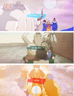 Avatar the Last Airbender: team avatar