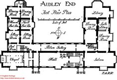 Audley End, First Floor
