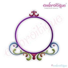 Leah Font Frame, Large - 5 Sizes! | What's New | Machine Embroidery Designs | SWAKembroidery.com Embroitique