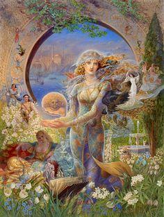 Fantasy and Mythology by Kinuko Y. Craft,