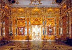 Catherine The Great, Peter The Great, Amber Room, Monument Men, Baltic Amber Jewelry, Stone Mosaic, World War Ii, Great Places, Amazing Places