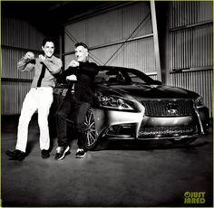 Simon Doonan & Jonathan Adler: Lexus Laws of Attraction Shoot!