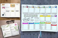 Keep everyday of the week organized with these bullet journal weekly spread ideas.