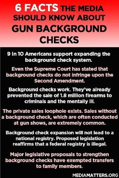 IMAGE: 6 facts you should know about #backgroundchecks