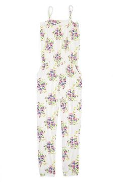 This lightweight stretch jumpsuit is both trend-savvy and practical for warmer days.