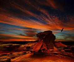 """""""Chile. Atacama. Sunset..."""" by Ghenadie Shatov, via 500px."""