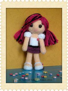 Amy, the Amigurumi Doll FreePattern
