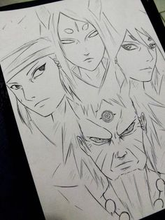 Rikudou Ashura Indra Kaguya xD by DiegoYojiJoji Minato E Naruto, Naruto Shippuden Sasuke, Naruto Art, Boruto, Gaara, Itachi, Anime Drawings Sketches, Naruto Drawings, Naruto Sketch